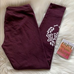 PINK Victoria's Secret Fleece Leggings